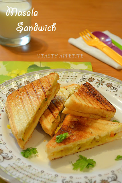 Indian Toastie Sandwich Recipe — Dishmaps