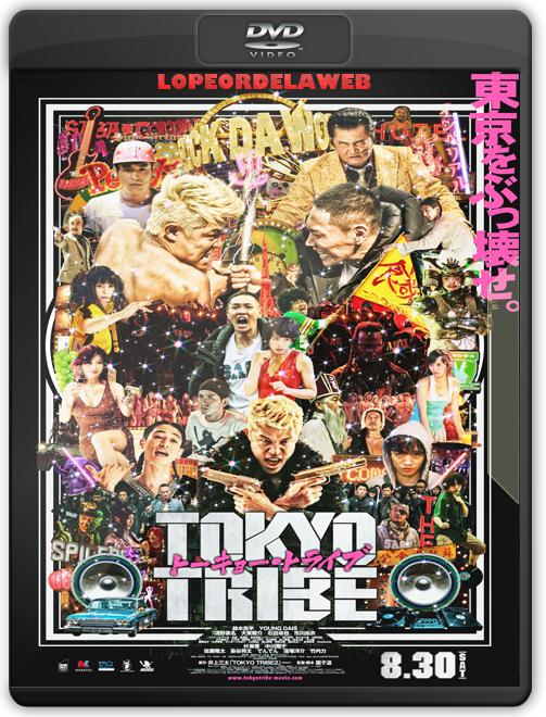 Tokyo Tribe |2014| DVDRip |Japón| Thriller/Comedia