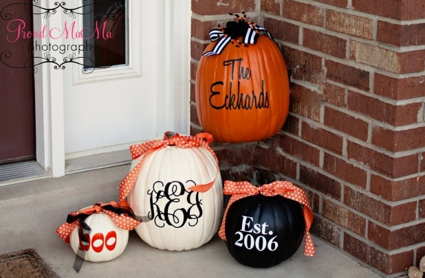 dont own a cricut or silhouette machine no problem these fall vinyl decal kits are just the thing decorate pumpkins your wall a frame etc with your - Cute Halloween Decor
