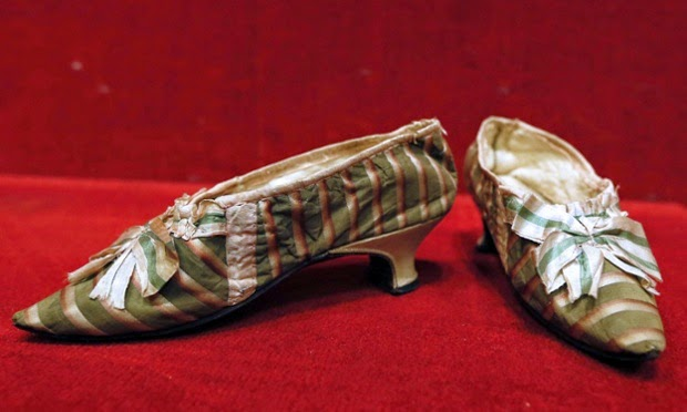 Shoes that belonged to Marie Antoinette, Marie Antoinette's Shoes
