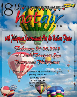 Subic Hot Air balloon 2013 travel