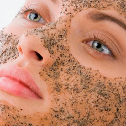 Exfoliantes para la piel de la cara