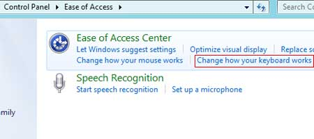 how to change enter key to another key