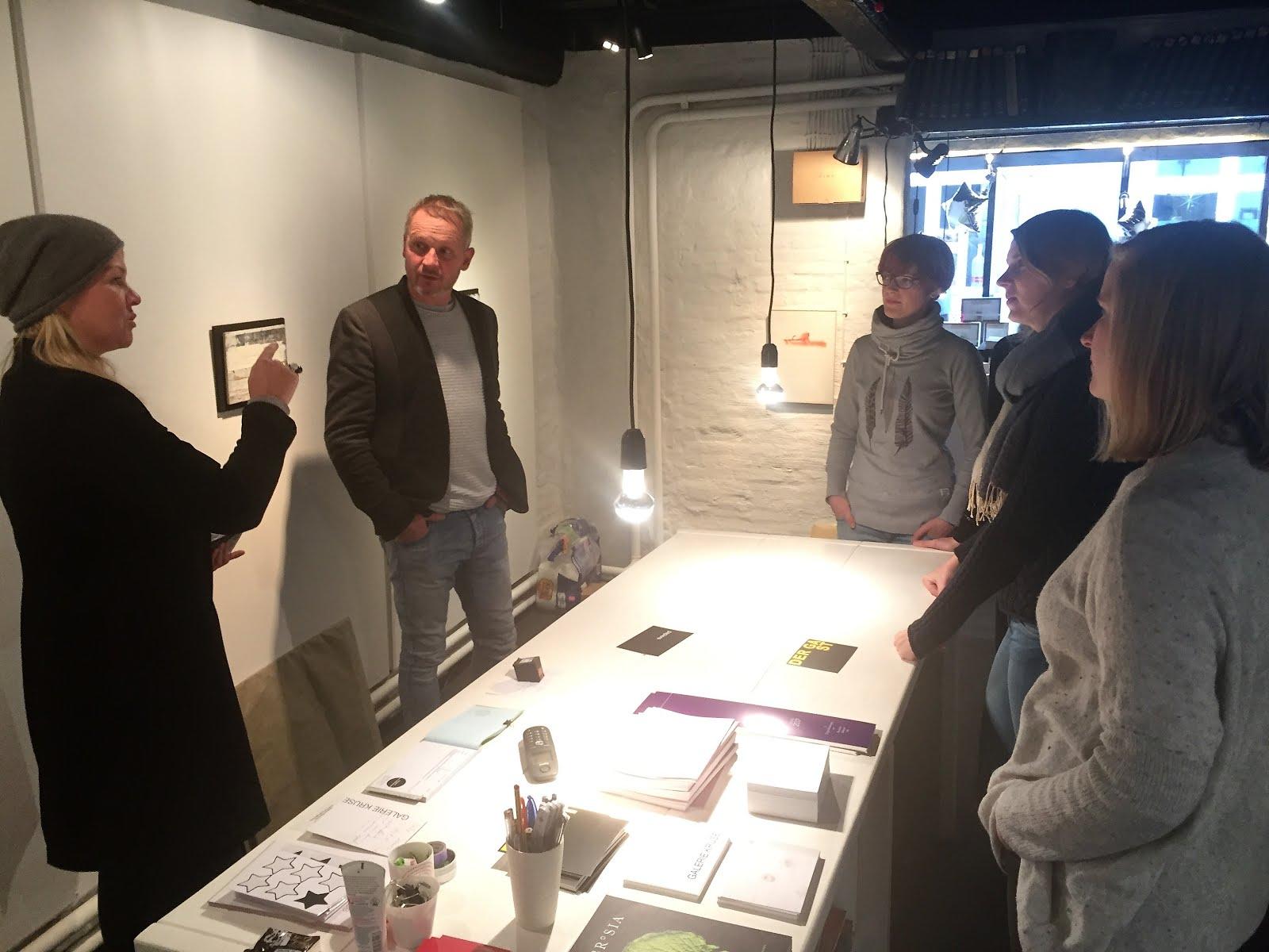 Besuch in der Galerie Kruse
