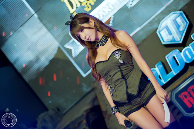 4 Heo Yoon Mi - World of Tanks  - very cute asian girl - girlcute4u.blogspot.com