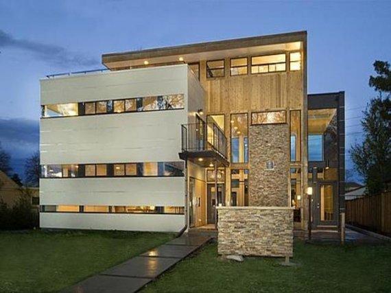 Modern luxury home in denver colorado home decorating for Modern houses denver