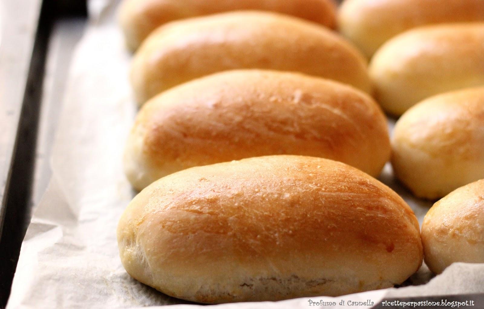 panini per hot dog - pronti in 3 ore con il lievito di birra