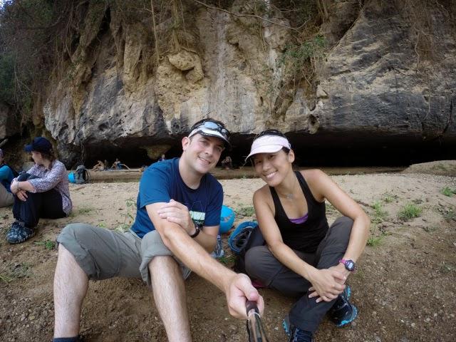 trekking Swallow cave 2