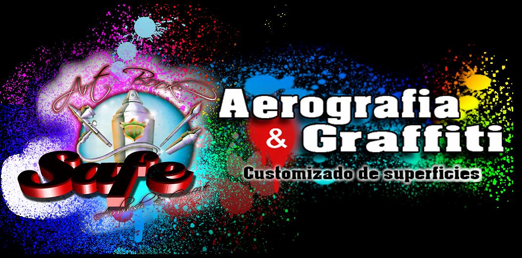 Avila aerografia graffiti mural