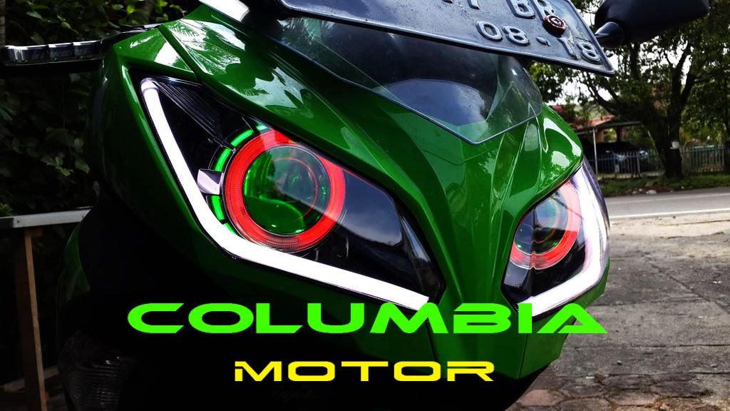 COLUMBIA MOTOR: Retrofit Ninja 250 Fi + DRL with Sein