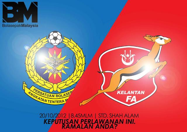 Keputusan Kelantan vs ATM Final Piala Malaysia 20 Oktober 2012