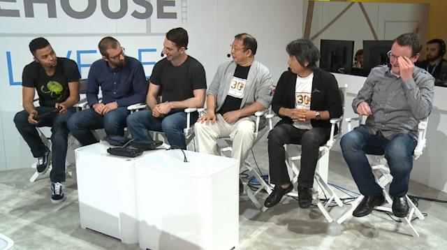 Nintendo Treehouse Live Tezuka Shigeru Miyamoto Bill Trinen Super Mario Maker 30th anniversary