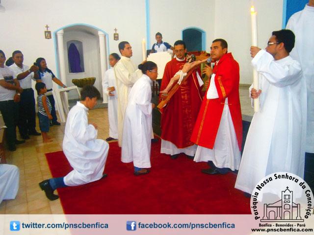 Quinta-feira santa Paróquia Nossa Senhora da Conceição - Benfica/PA
