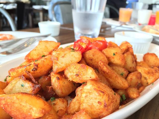 Milagro Spanish Restaurant - Potatoes Bravas