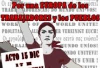 Europa: 15D – Ven con nosotros a un acto internacionalista