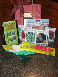 gardener's bag of goodies!