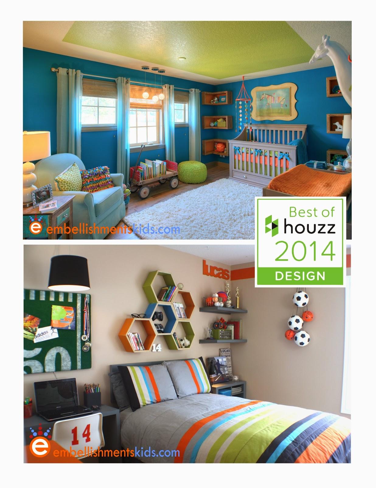 Embellishments kids two embellishments kids designs for Houzz kids room