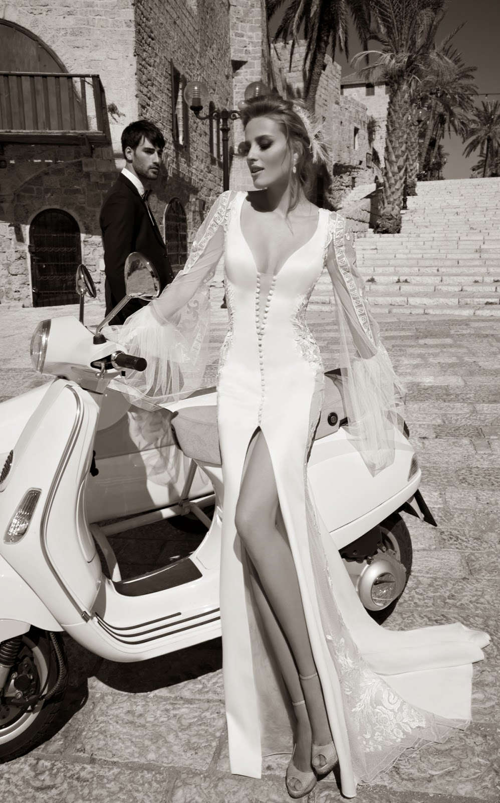 wedding dress haute couture galia lahav 2015