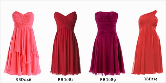 2015 spring and summer bridesmaids dresses from www.redbd.co.uk