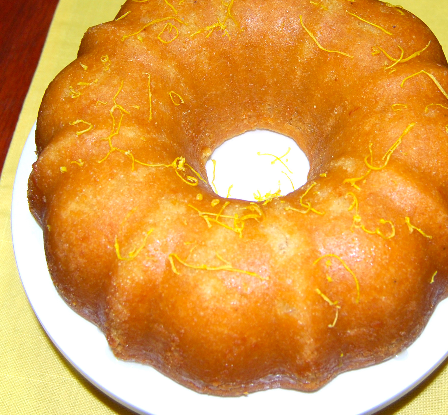 Vegan Lemon Poppy Pound Cake