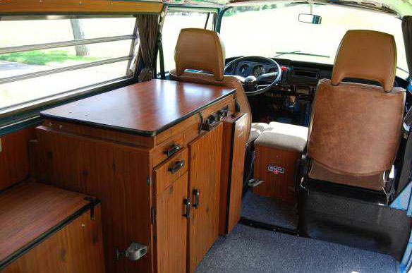 1978 vw camper westfalia buy classic volks for Interior westfalia