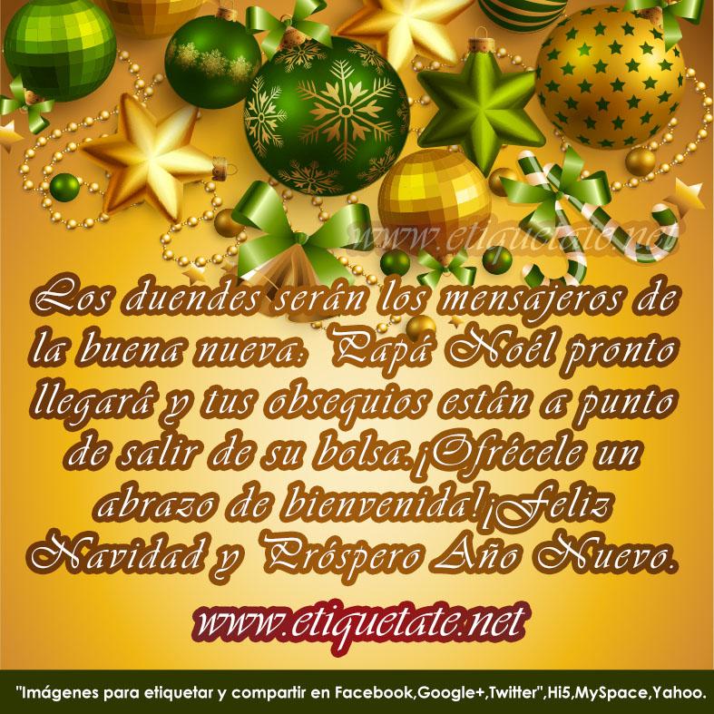 Mensajes de navidad para facebook esferas y adornos - Mensajes bonitos de navidad y ano nuevo ...