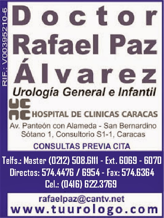 DR. RAFAEL PAZ ALVAREZ en Paginas Amarillas tu guia Comercial
