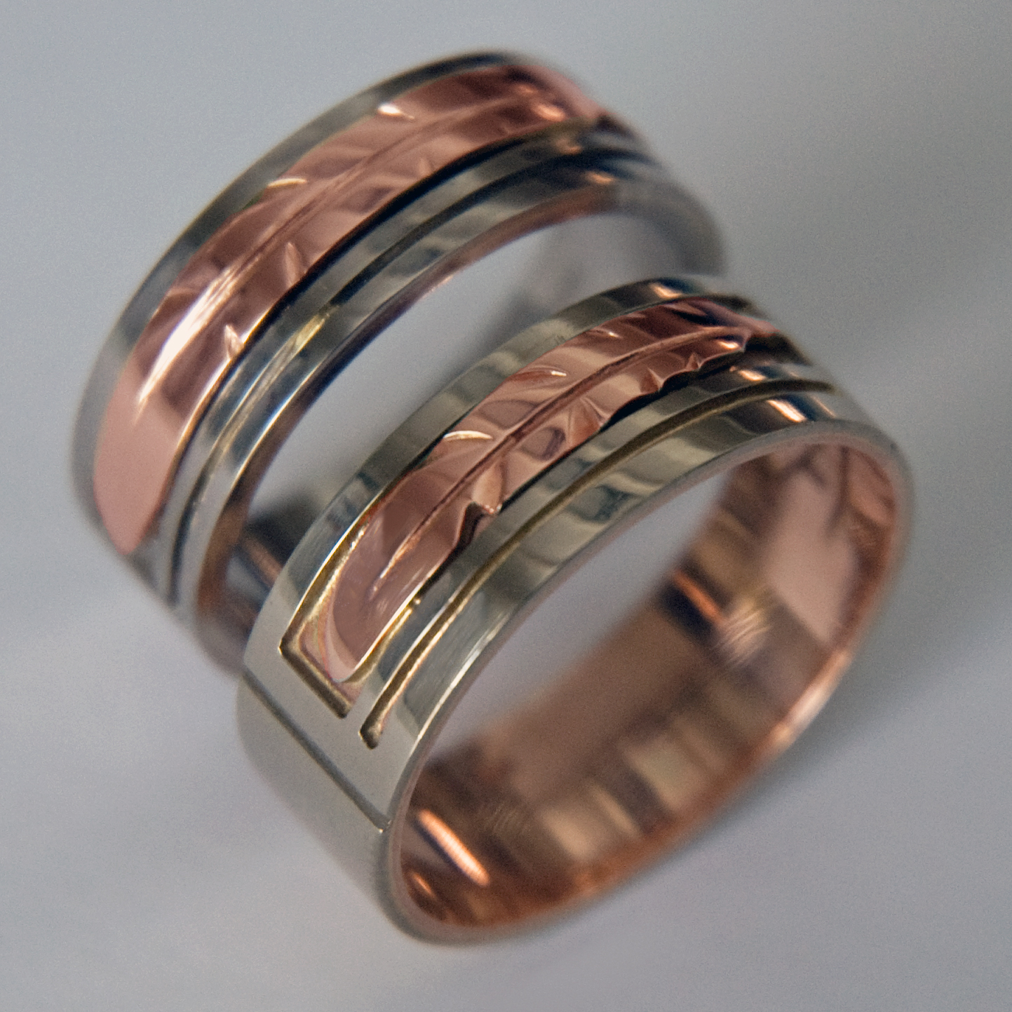 native american wedding rings vision of the eagle - Native American Wedding Rings
