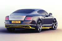 Bentley Continental GT Speed Breitling Jet Team Series (2015) Rear Side