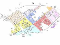 Mapa de las calles de Pompeya