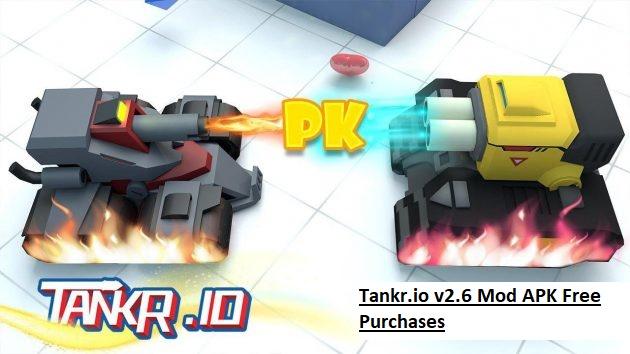 Tankr.io v2.6 Mod APK Free Purchases