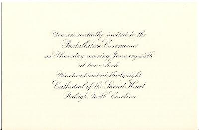 Bishop Consecration Invitation was beautiful invitations example