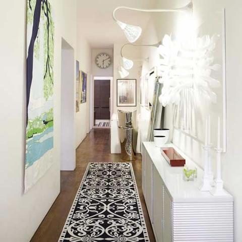 Ejemplos de como decorar el pasillo decora y divi rtete - Como decorar un pasillo ...