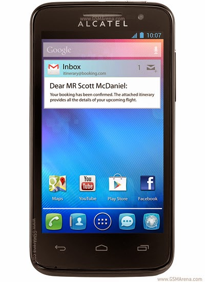 Alcatel One Touch MPOP 5020 hard reset