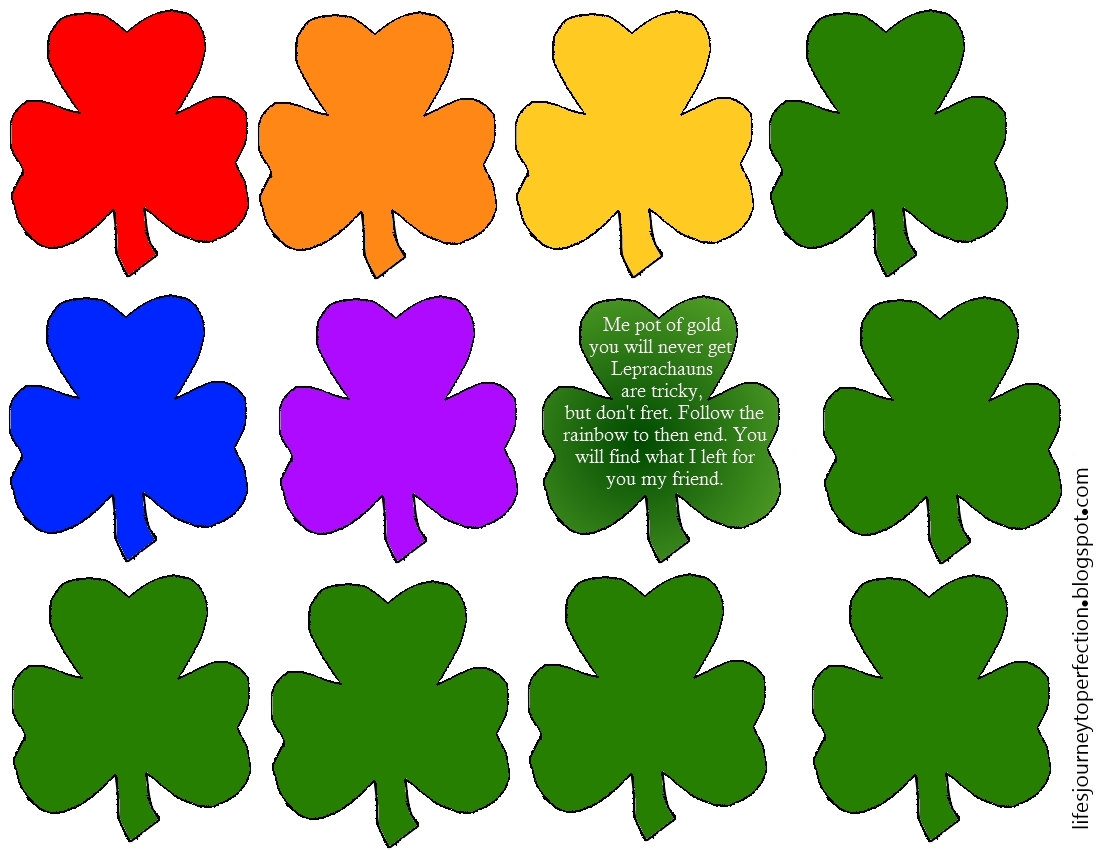 life u0027s journey to perfection what luck st patty u0027s day ideas