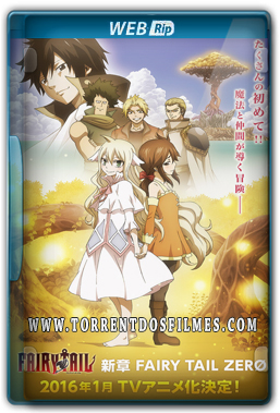 Fairy Tail Zero (2016) Torrent – WEB-Rip 720p | 1080p Legendado