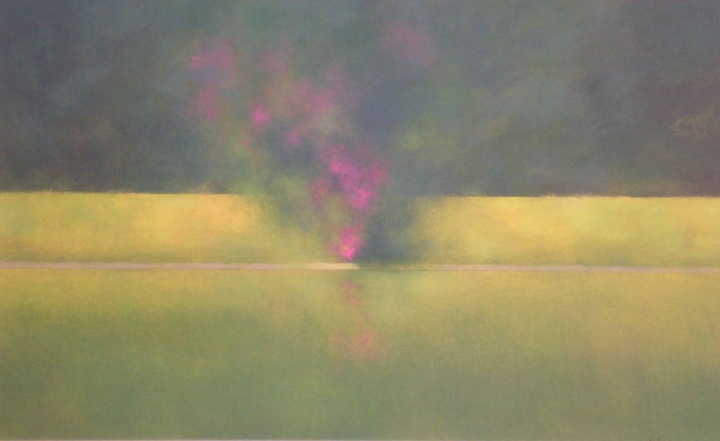 Pinturas y dibujos jardines for Pintura para estanques