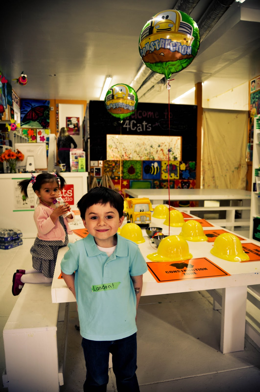 We Had Landons Fourth Birthday Party At 4Cats Art Studio In Potrero Hill Have Held Parties Our House A Playground And SF