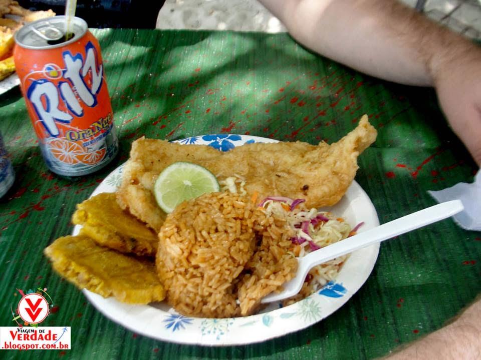 refeição san andres pescado