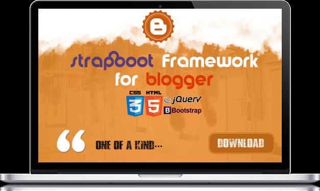 Strapboot Framework Blogger Template