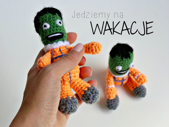 kerbal, kerbal space program, kerbal crochet, crochet, szydełko, maskotka