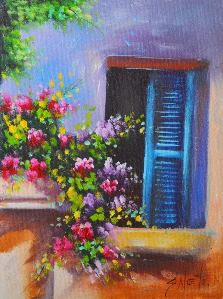 cuadros-de-ventanas-y-balcones-con-flores