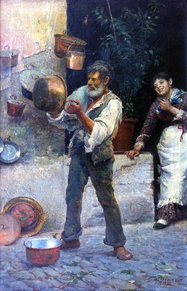 Fausto Zonaro pittore