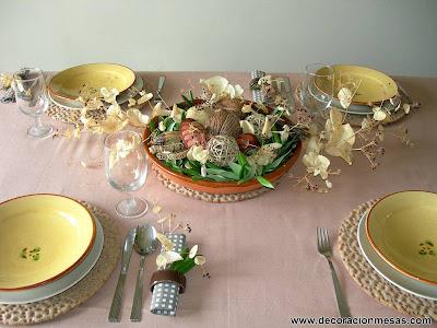 decoracion mesas mesa estilo rustico