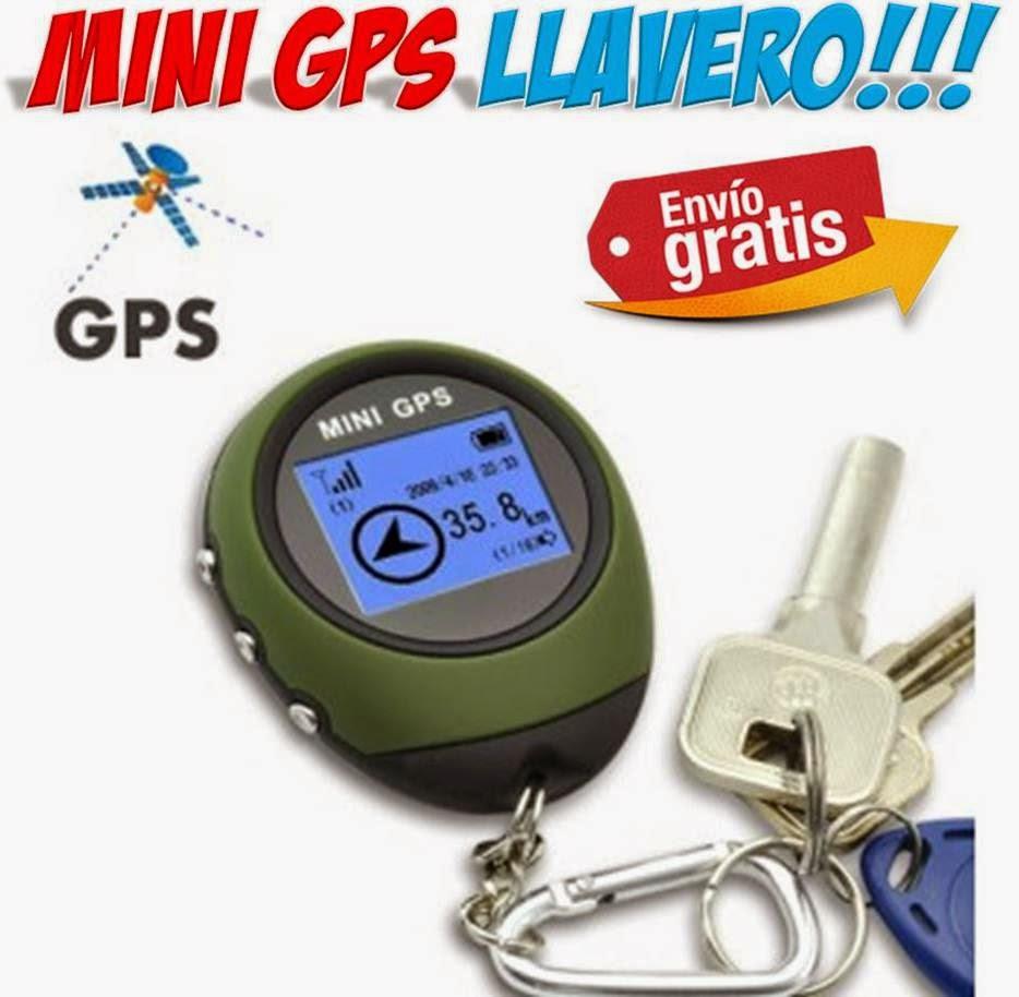 Mini localizador GPS llavero