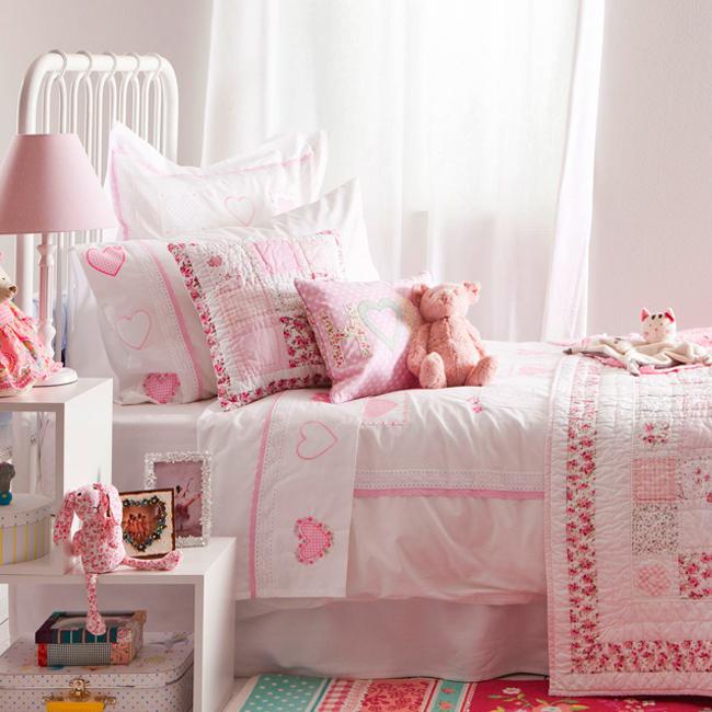 Inspiraci n textil para habitaciones de ni osbed linen - Ropa de cama infantil zara home ...