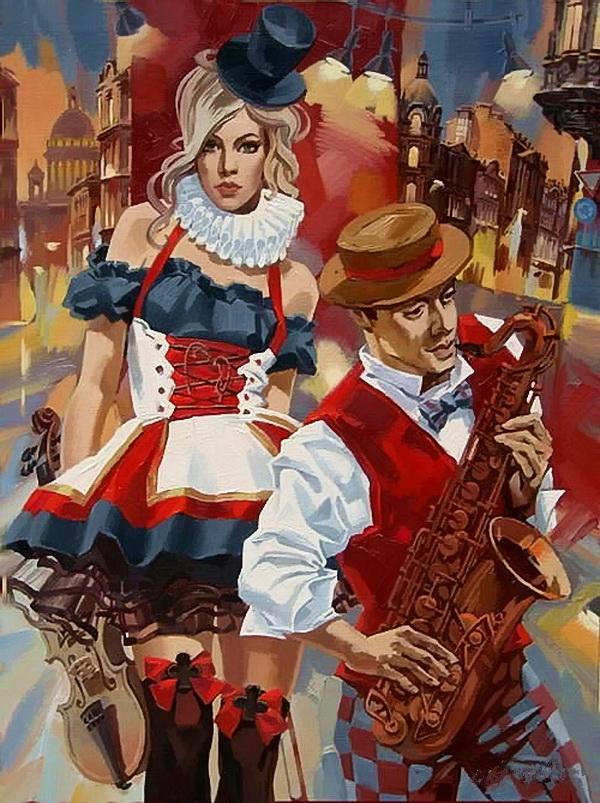 Alex Lashkevich |Fashon painter