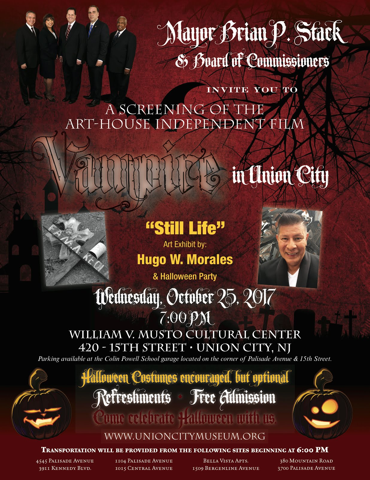 """Vampire in Union City"" Returns"