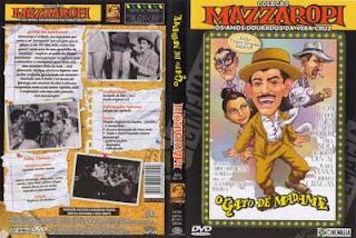 Mazzaropi O Gato de Madame DVD Capa