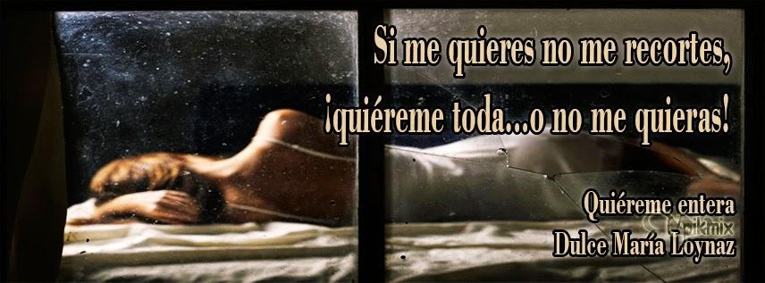 Quiéreme ●  Dulce María Loynaz ●Portada para facebook